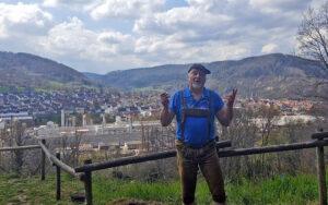 Blick auf Amorbach