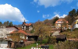 Die Villen der Reichen in Amorbach