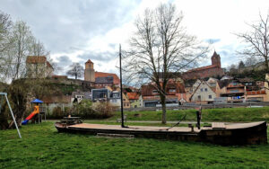 Schloss Homburg und St. Burkhardskirche