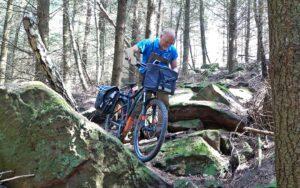 Mit dem E-Bike durchs Felsenmeer